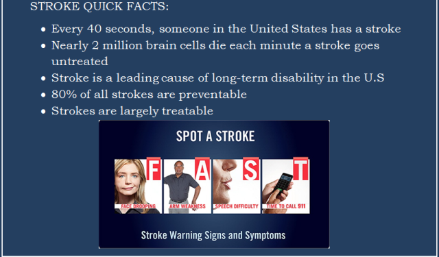 2016 American Stroke Month