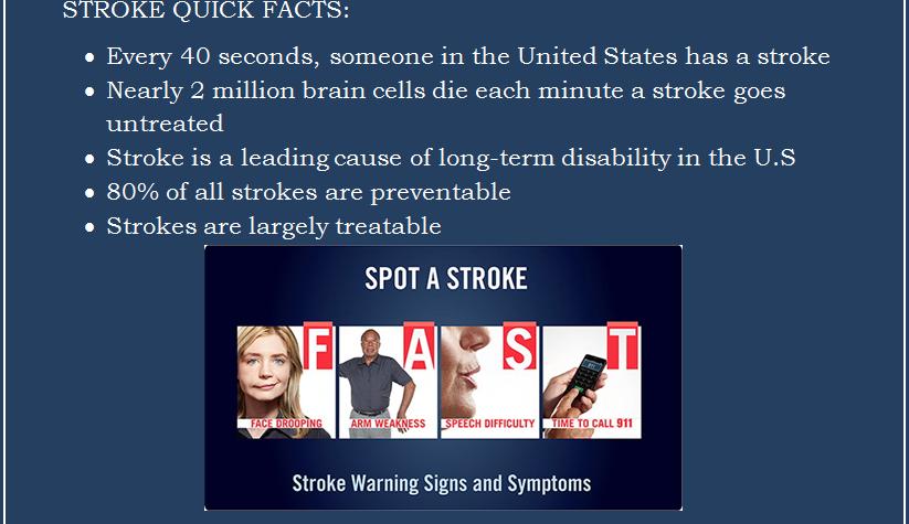 2016 American Stroke Month